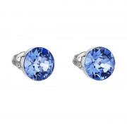 Cercei cu cristale Swarovski FaBOS, Sapphire 7440-4537-24