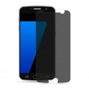 Mica Cristal Templado Para Samsung G930 Galaxy S7 Privacidad - Negro