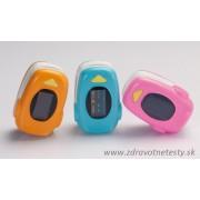 Prstový pulzný oximeter pre deti