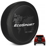Capa De Estepe Ecosport 2003 a 2019 Estampa Global Car PVC