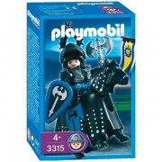 Playmobil 3315 Chevaliers - Chevalier Noir