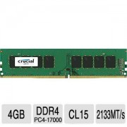 4GB DDR4 PC17000 2133MHz Crucial Value CT4G4DFS8213 memoria