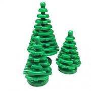 Parts/Elements - Plants Lego Parts: Forest Bundle Pack Plant Tree Pine Large 4 x 4 x 6 2/3 Plant Tree Pine Small 2 x 2 x 4