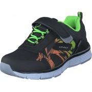 Gulliver 435-0113 Waterproof Softshell Black/Lime, Skor, Sneakers & Sportskor, Sneakers, Svart, Barn, 31