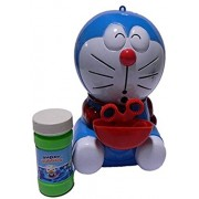 ANG ANG Doraemon Bubble Maker with Walk Light & Music Toy Bubble Maker