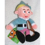 "Rudolph Island of Misfit Toys 8"" Plush Herbie the Elf CVS Bean Bag from 1998"