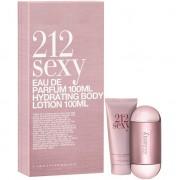 Carolina Herrera 212 Sexy Комплект (EDP 60ml + BL 100ml) за Жени