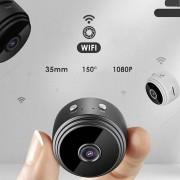 mini camara portatil A9 Wifi IP P2P Full HD 1080P seguridad