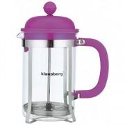 Infuzor pentru ceai si cafea, Klausberg, 800 ml, KB-7080-PR, Mov