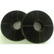 Set filtre de carbon hota Heinner FC-440GBK, compatibile cu modelul HTCH-440GBK, Dimensiuni: 10.5 x 2.3 cm