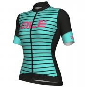 Alé Women's R-EV1 Marina Jersey - Black/Turquoise - XL - Black/Turquoise