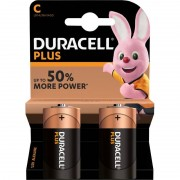 Duracell 2x Duracell C Plus batterijen alkaline LR14 MN1400 1.5 V