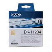 Brother Multi-purpose Labels DK-11204 Black on White 17 mm x 54 mm 400 Labels
