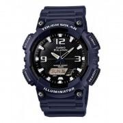 Casio orologio uomo aq-s810w-2a2vdf tough solar collezione casio sport