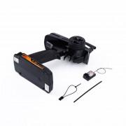 ER FS GT2 2CH Transmisor 2.4 GHz Radio Control Remoto Y Receptor RC Coche Barco.
