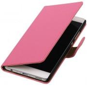 BestCases.nl Samsung Galaxy J5 2017 J530F Effen booktype hoesje Roze