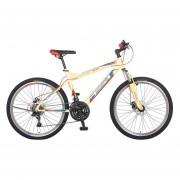 Bicicleta Benotto Ignition FS MTB Acero R26 21V Hombre Fnos DD Crema UN