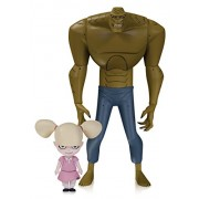 DC Collectibles Batman Animated Nba Killer Croc With Baby Doll Action Figure, Multi Color