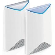 Router Mesh Netgear Orbi Pro SRK60, Gigabit, Tri-Band, 3000 Mbps, 6 Antene interne (Alb)