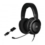 Casti Gaming Corsair HS45 Surround Carbon, USB, Microfon (Negru)