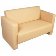 Minit Cubo 2 kétszemélyes kanapé szögletes formavilággal