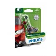 Bec auto Philips H11 LongLife EcoVision 12V , 55W