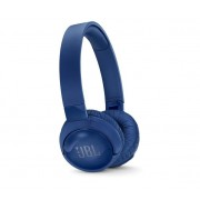 HEADPHONES, JBL T600BTNC, Bluetooth, Microphone, Blue (JBLT600BTNCBLU)