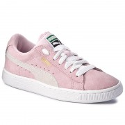 Сникърси PUMA - Suede Jr 355110 30 Pink Lady/White/Team Gold
