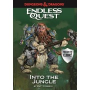 Dungeons & Dragons Endless Quest: Into the Jungle, Hardback/Matt Forbeck