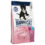 2x4kg Happy Cat Junior Sin Cereales con pato pienso para gatitos