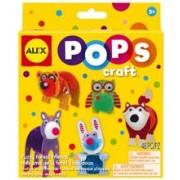 Pops Craft Amicii Din Padure - Alextoys (Ax1304-5)
