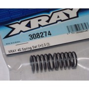 Xray 308274 T4 short springs soft 2.3 (2)