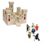 Melissa & Doug - 2 Piece Folding Medieval Castle