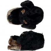 Geen Warme sloffen/pantoffels hondenkop voor dames