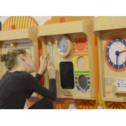 Joc educativ Invatam ceasul din lemn +3 ani Masterkidz