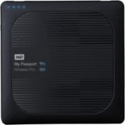 WD My Passport Wireless Pro 2 TB Wireless External Hard Disk Drive(Black)