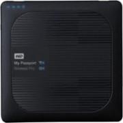 WD My Passport Wireless Pro 4 TB Wireless External Hard Disk Drive(Black)