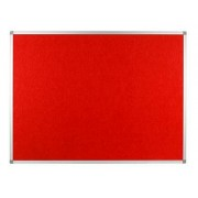 Polycolour Aluminium Framed Noticeboard 1800x1200mm