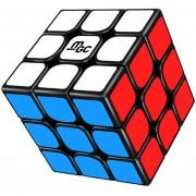 3X3X3 Versión Magnética MGC Cubo Mágico YJ - Negro
