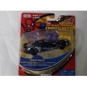 Marvel Spider Spider-man Sense Motorized Power Racer- Pull-back Powered Die-cast Vehicle,black Spiderman Dodge Viper GTZ
