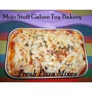 Lalaloopsy Baking Oven Mixes Refill / 3 Cheese Pizza Mixes with Italian Seasoning and Parmesan Cheese Makes 6 Lalaloopsy Oven Mix Refill Super Pack by Mojo Stuff Galore