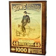 D Toys Vintage Poster Howes Bicycles Jigsaw Puzzle 1000 Piece Jigsaws Puzzles