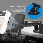 Macally TELEMAG houder Mobiele telefoon/Smartphone Zwart Actieve houder