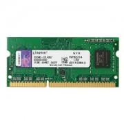 4GB DDR3 PC12800 1600MHz Kingston SODIMM Low Voltage 1.35V KVR16LS11/4 laptop memoria