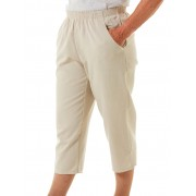 Senior's Choice Fawn Woven 3/4 Pants - Fawn 10