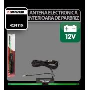 Antena electronica interioara de parbriz 4Cars 12V