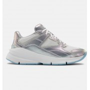 Under Armour Women's UA Forge 96 HL Iridescent Sportstyle Shoes White 6.5