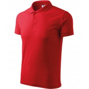 ADLER Pique Polo Polokošile 20307 červená XXXXL