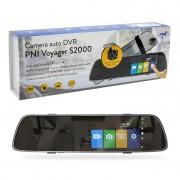 "Oglinda Auto DVR PNI Voyager S2000 Full HD cu Camera Auto DVR 5"" si Camera de Mers Inapoi Mod Noapte Mod Parcare"