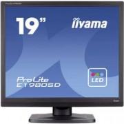 "Iiyama LED monitor Iiyama E1980SD-B1, 48.3 cm (19 ""),1280 x 1024 px 5 ms, TN LED DVI, VGA"